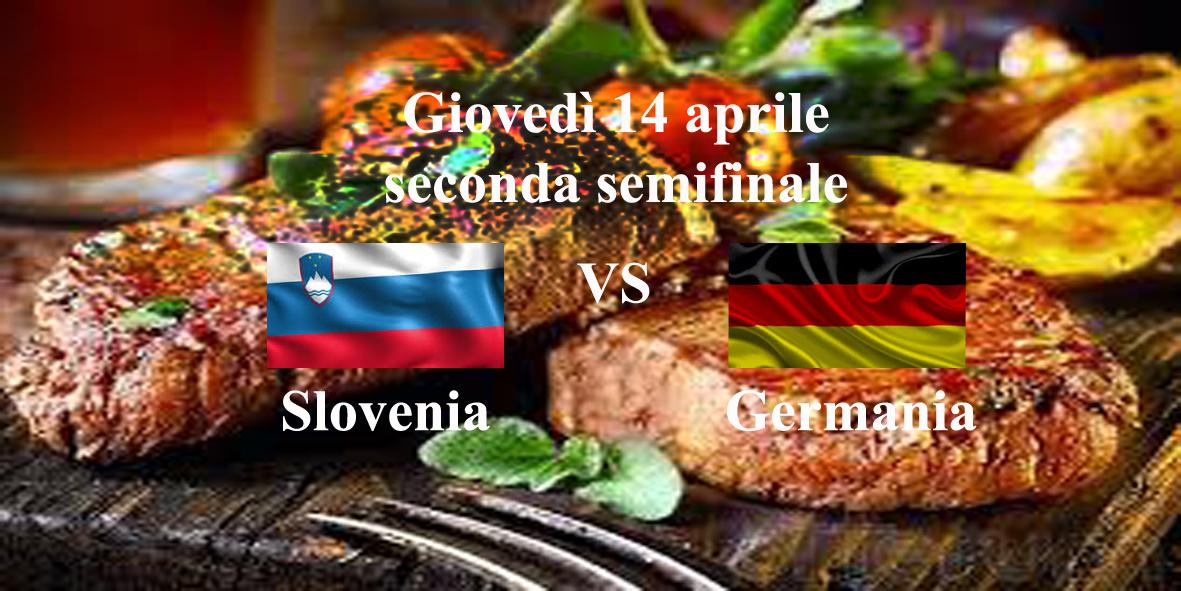 seconda semifinale